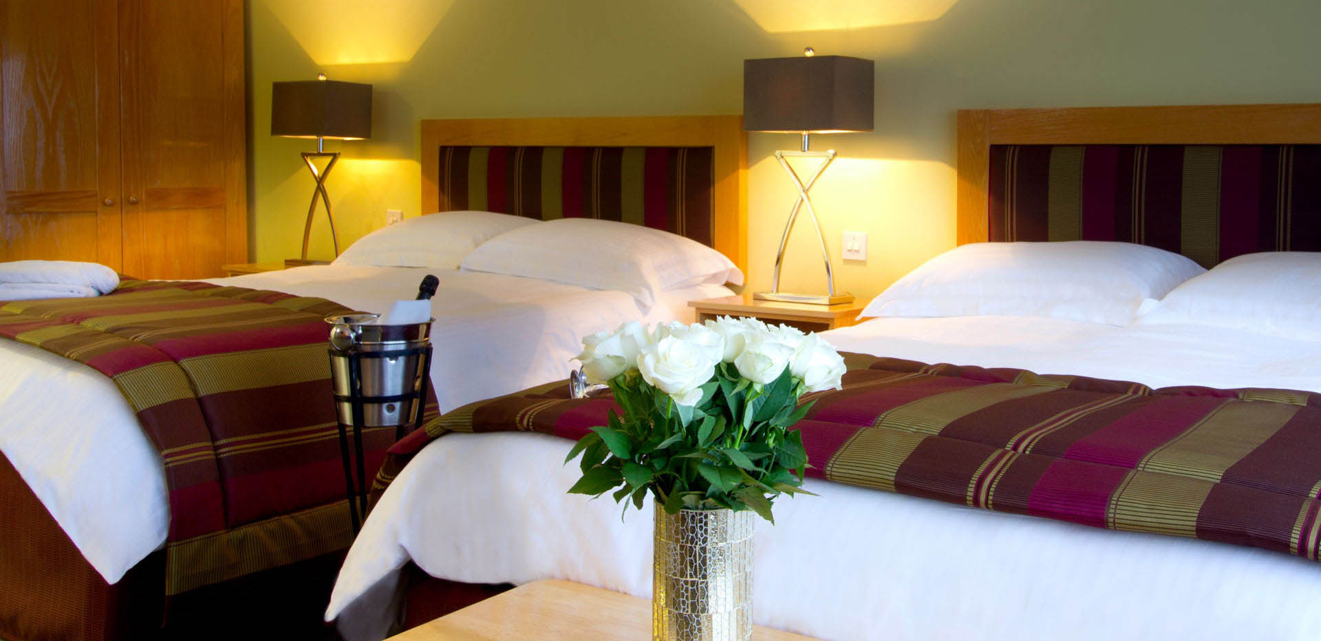 Each room with a stunning view of Sheephaven Bay