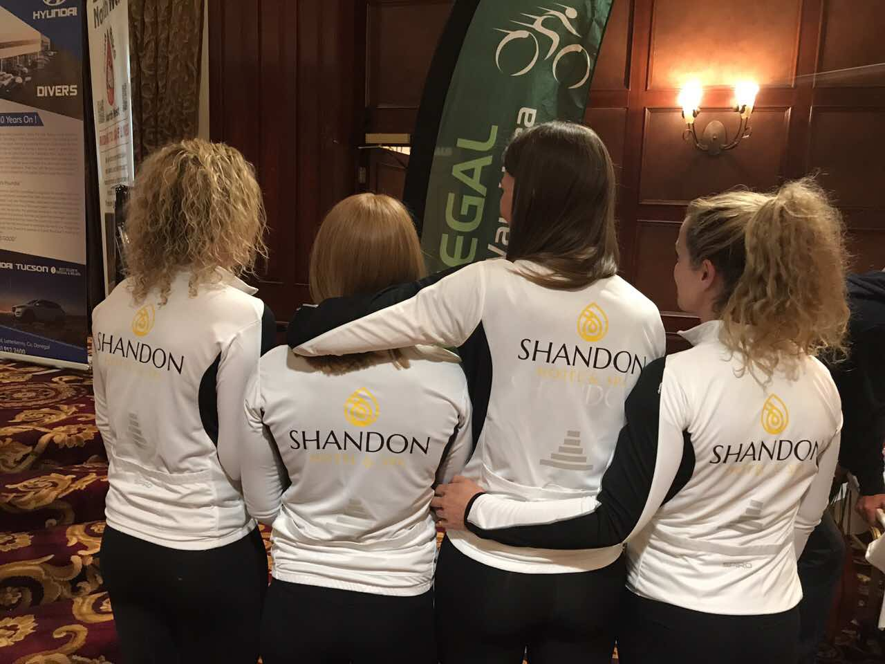 Shandon's Team Tri Quads Wins Overall Ladies Team At Donegal Ultra!